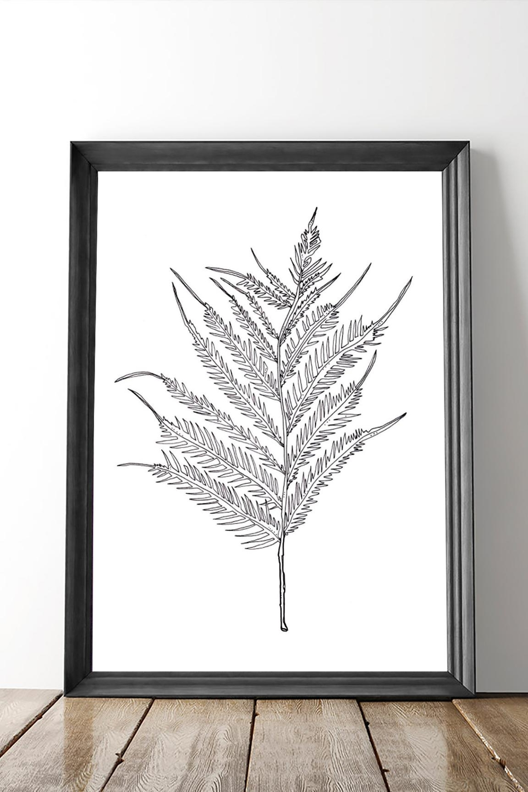 KP Studio Fern Decor Print - Front Full Image