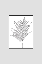 KP Studio Fern Decor Print - Side cropped