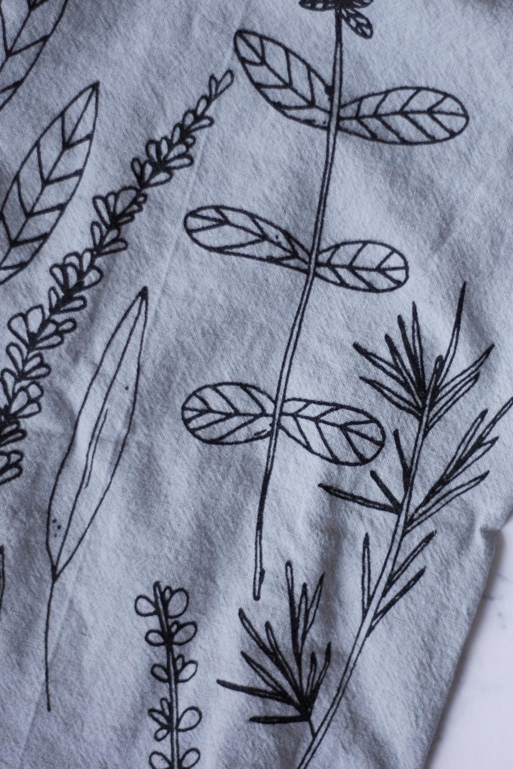 KP Studio Herb Hand Towel - Front Cropped Image