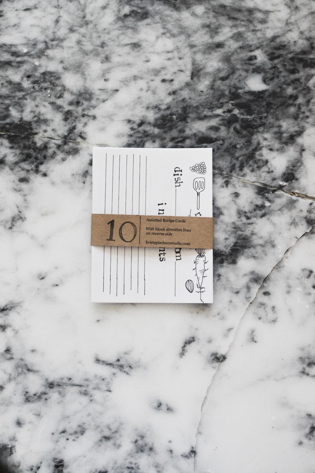 KP Studio Recipe Cards - Side Cropped Image