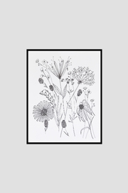 KP Studio Wildflower Decor Print - Side cropped
