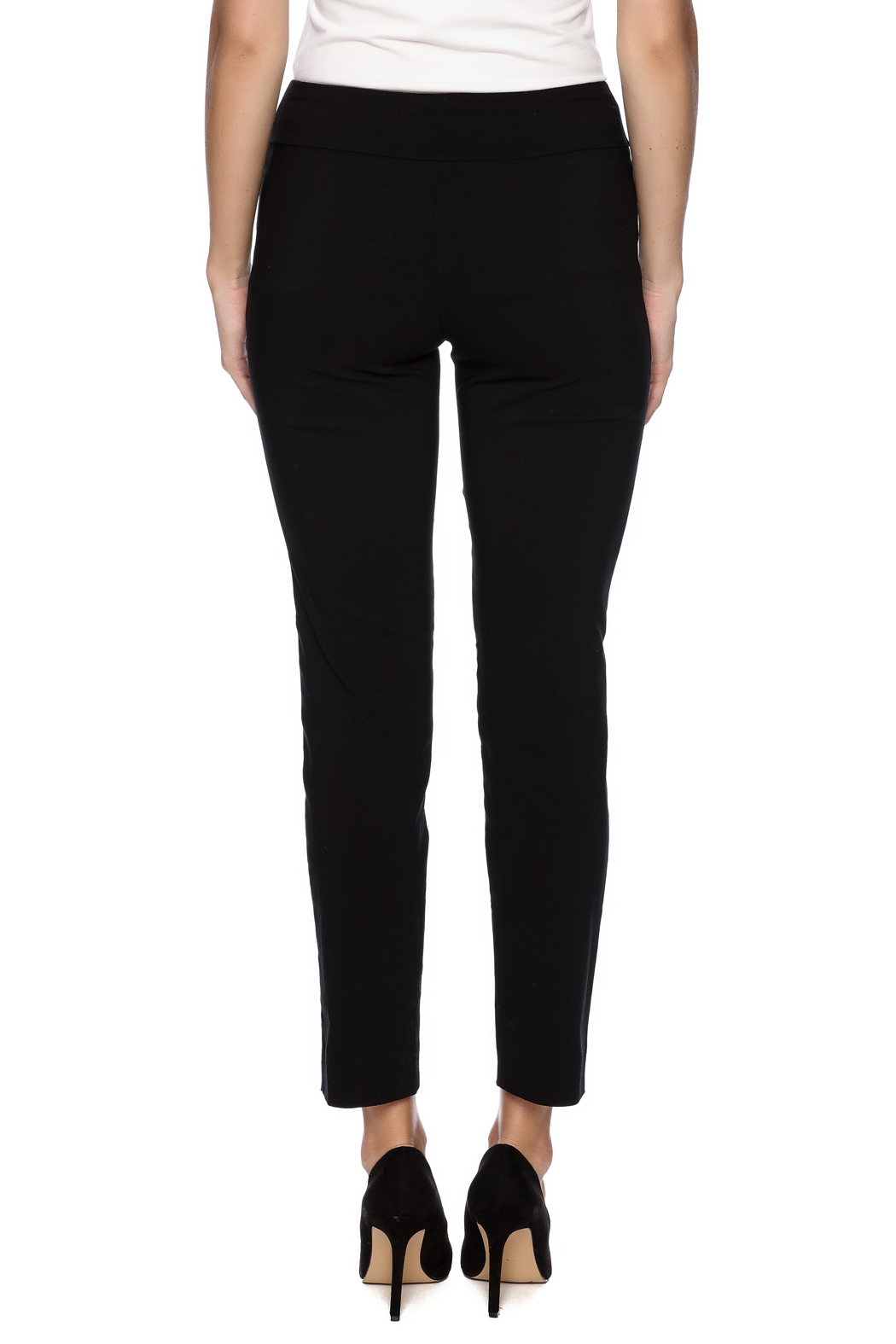 Krazy Larry Pull On Dress Pants - Back Cropped Image