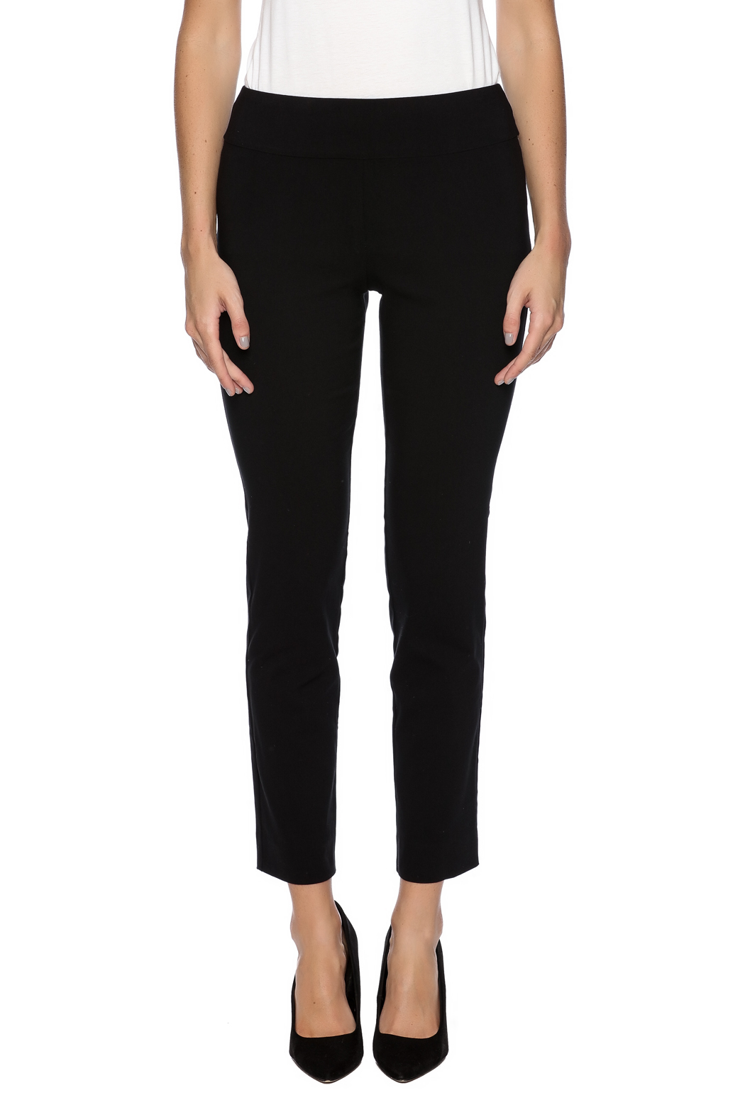 Krazy Larry Pull On Dress Pants - Side Cropped Image