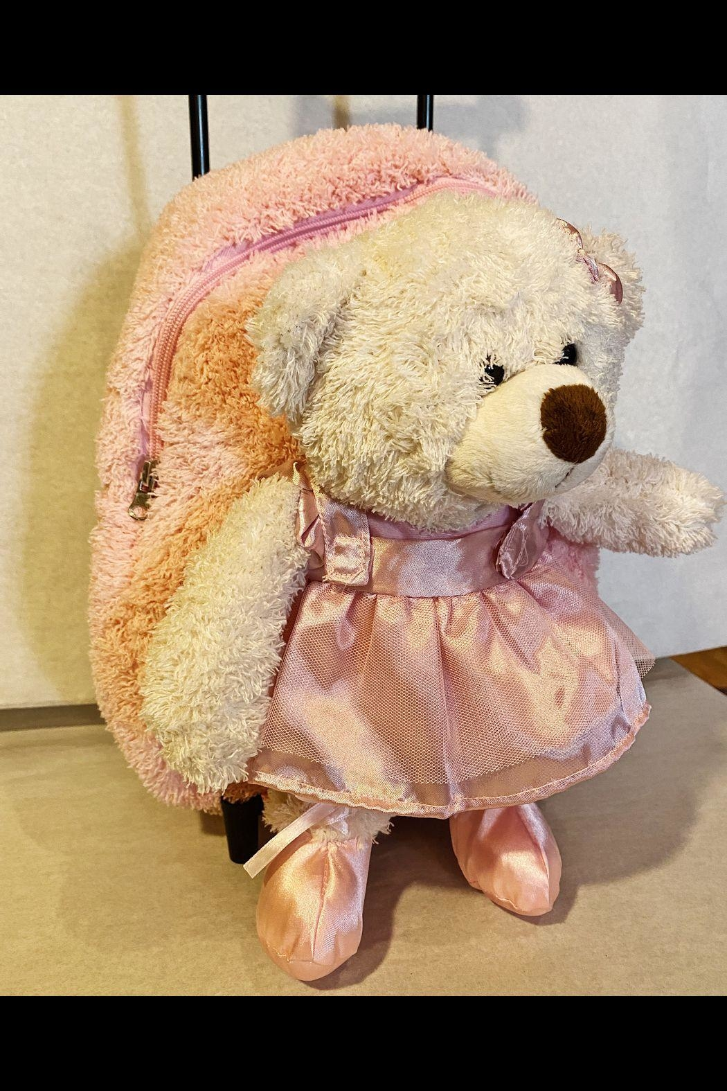 kreative kids Bear Ballerina Trolley - Front Full Image