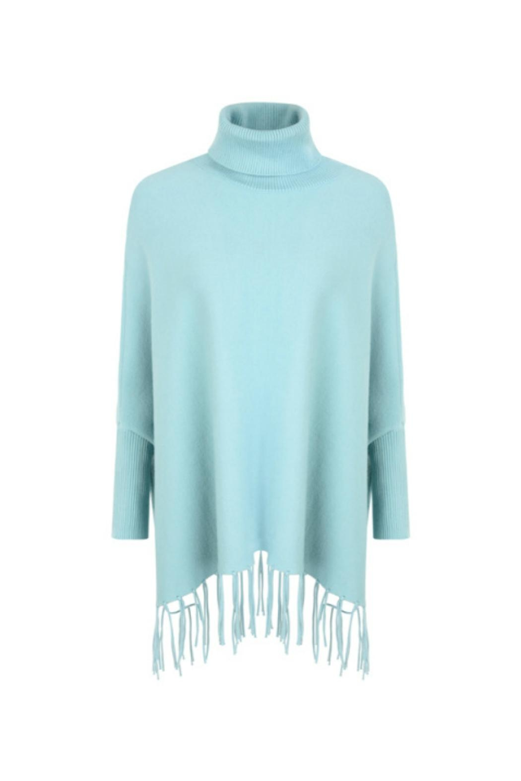 Kris-Ana  Polo Neck Capes - Front Cropped Image