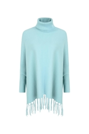 Kris-Ana  Polo Neck Capes - Front cropped