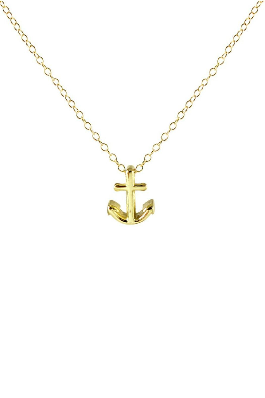 Kris Nations Anchor Charm Necklace - Main Image