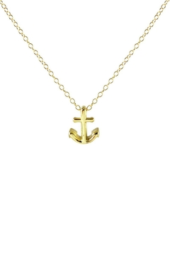 Kris Nations Anchor Charm Necklace - Product List Image