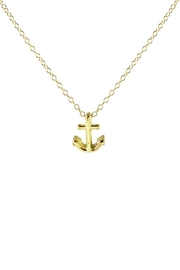 Kris Nations Anchor Charm Necklace - Product Mini Image