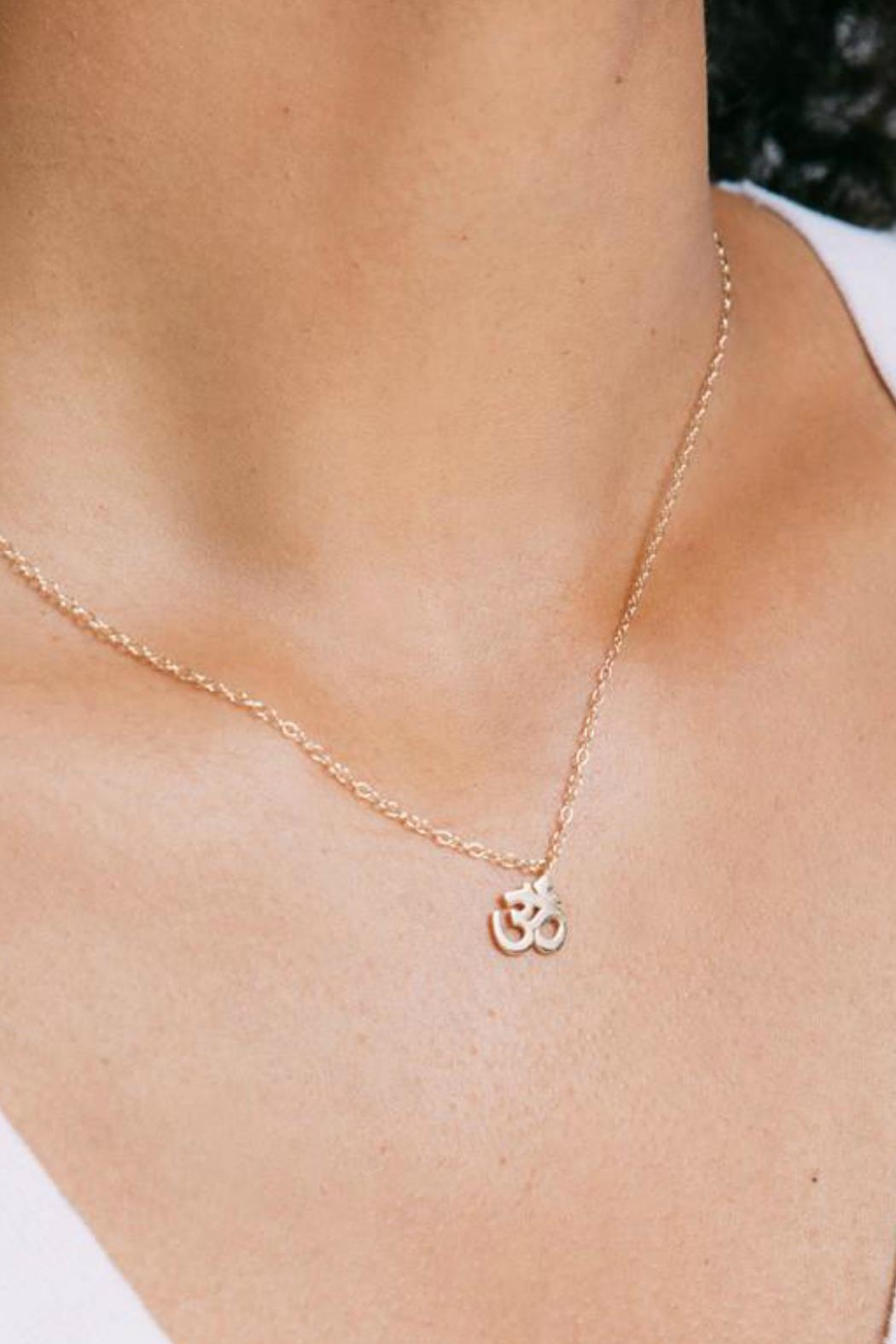 Kris Nations Om Necklace - Front Full Image