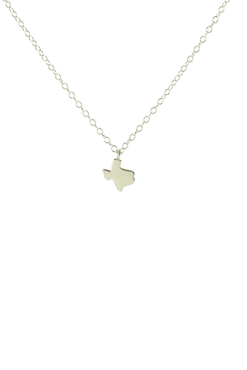 Kris Nations Texas Charm Necklace - Front Cropped Image