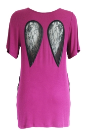 Kriss Soonik Modal Night Gown - Front full body