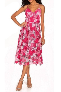 Alexia Admor Krissy Mixed Floral Fit & Flare Midi Dress - Alternate List Image