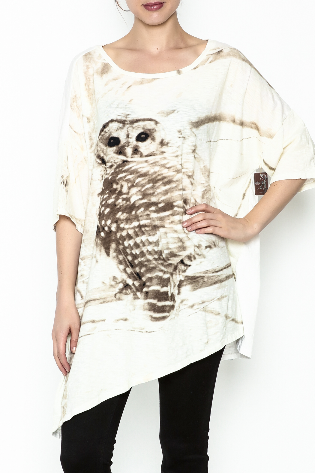 Krista Larson Owl T-Shirt - Front Cropped Image