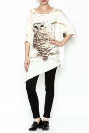 Krista Larson Owl T-Shirt - Side cropped