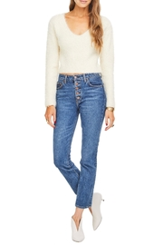 ASTR Krista Sweater - Back cropped