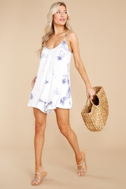 z supply Krista Tie-Dye Romper - Product Mini Image