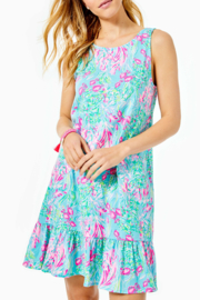 Lilly Pulitzer  Kristen Flounce Dress - Front cropped