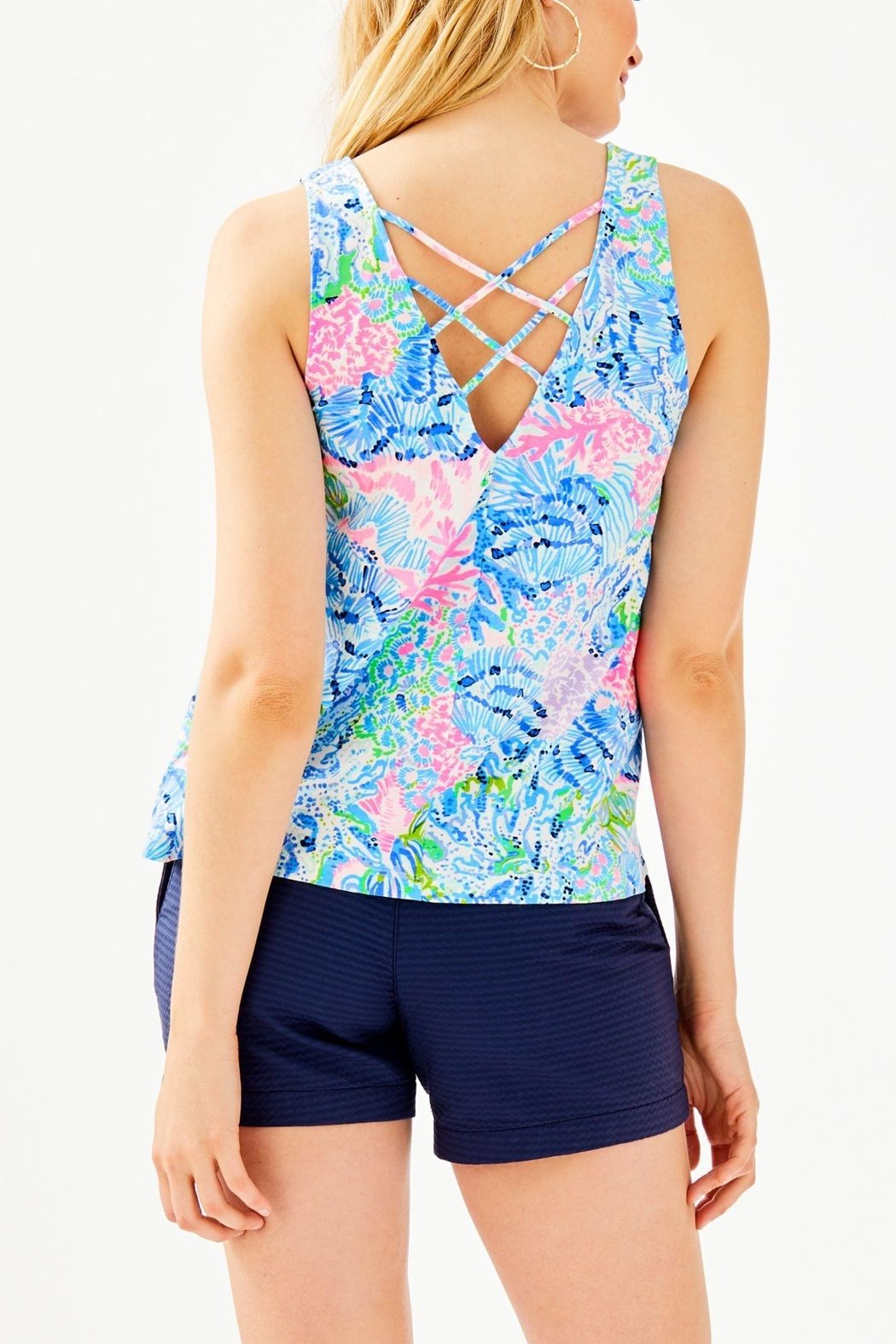 Lilly Pulitzer Kristen Top - Front Full Image
