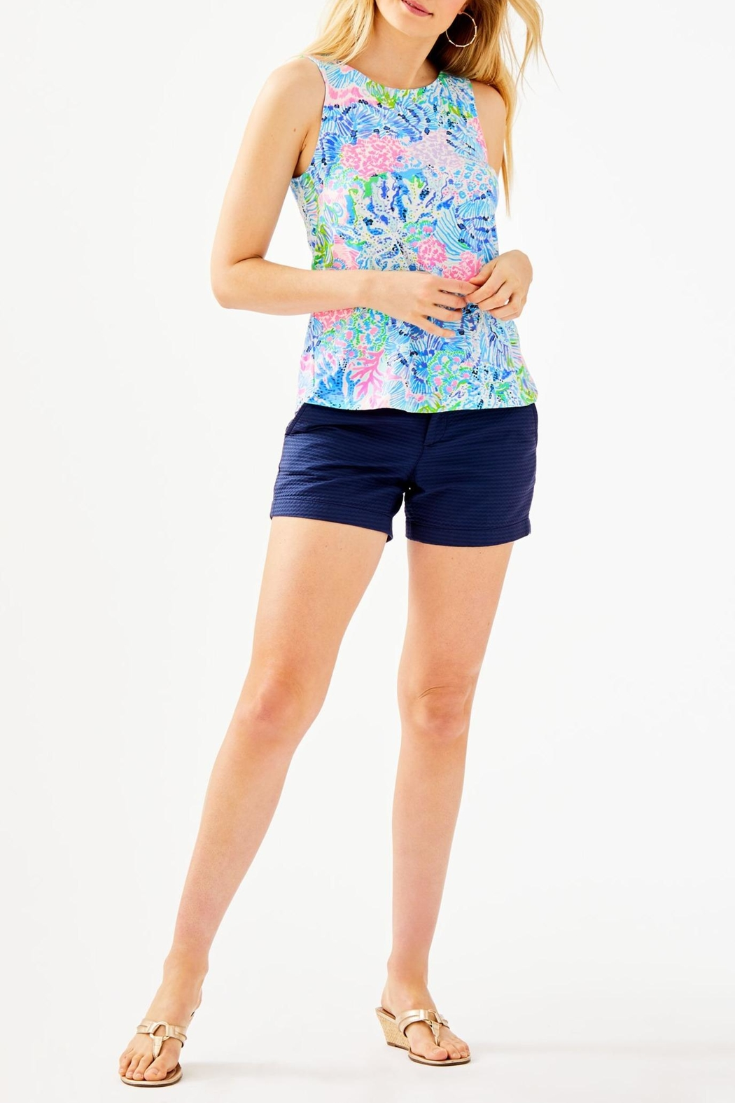 Lilly Pulitzer Kristen Top - Side Cropped Image