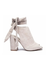 Kristin Cavallari for Chinese Laundry Suede Peep-Toe Bootie - Side cropped