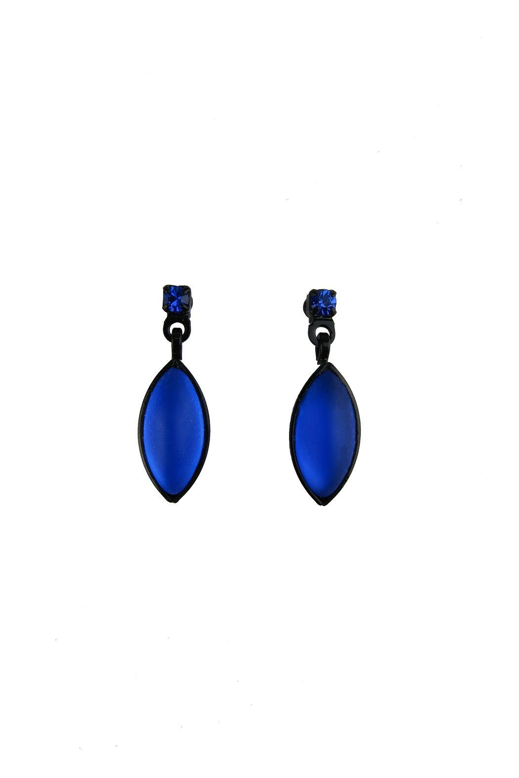 Kristina Collection Glass Bead Earring - Main Image