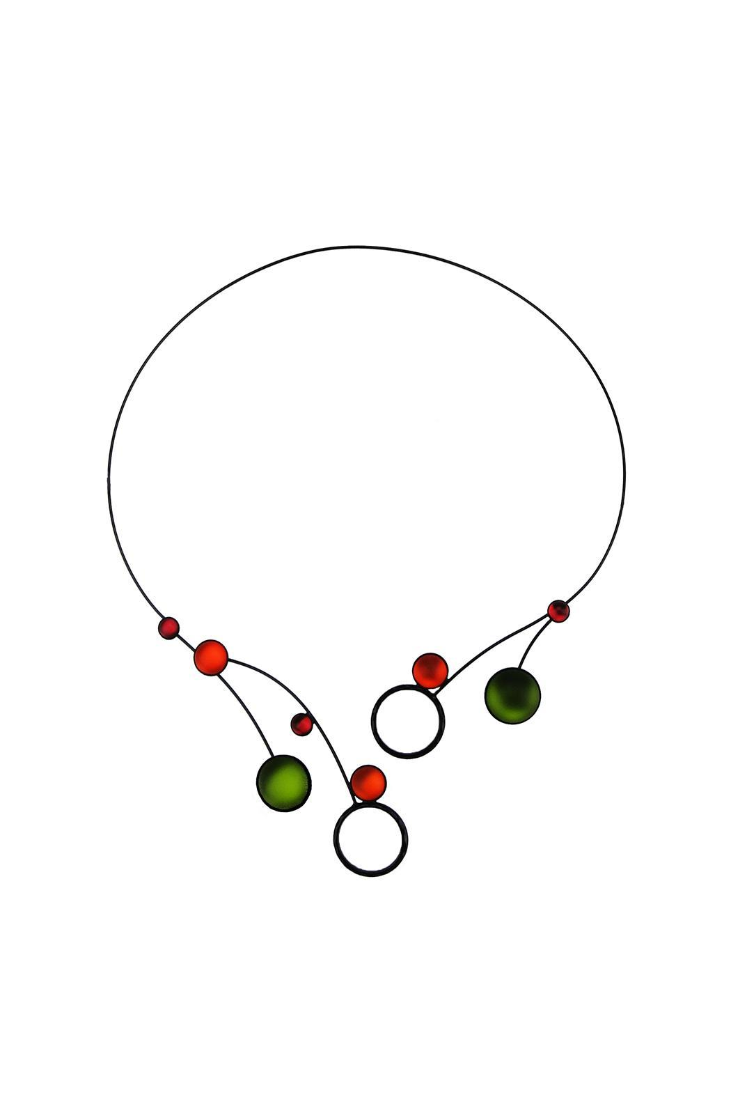 Kristina Collection Memory Wire Necklace from Montana by Toucan ...