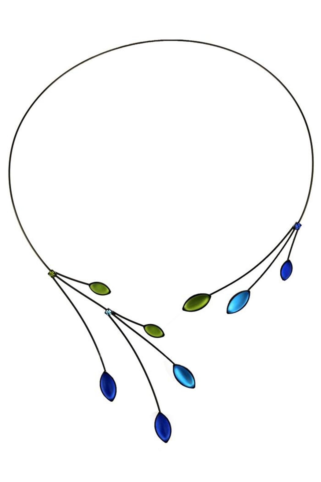 Kristina Collection Memory Wire Necklace - Main Image