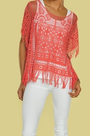 Kristine Crochet Cover Up - Front cropped