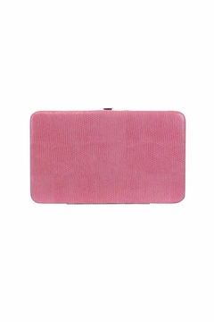 Kristine Pink Flat Wallet - Alternate List Image