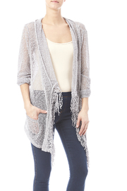 Kristine Lace Fringe Cardigan - Product Mini Image