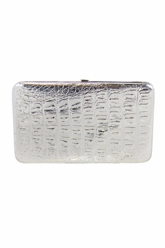 Kristine Shiny Metallic Flat Wallet - Alternate List Image