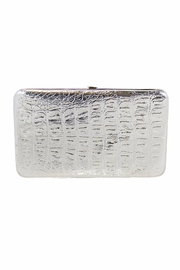 Kristine Shiny Metallic Flat Wallet - Product Mini Image