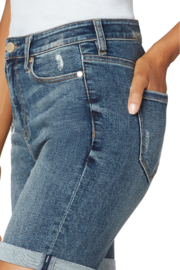 Liverpool  KRISTY HI-RISE DOUBLE ROLLED SHORT - Side cropped