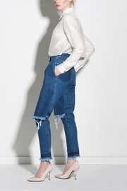 Ksenia Schnaider Dark Blue Jeans - Product Mini Image