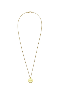 KTCollection Karma Gold Necklace - Product List Image