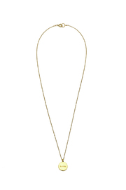 KTCollection Karma Gold Necklace - Product Mini Image