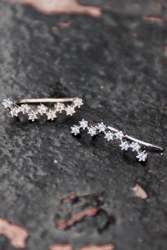 Shoptiques Product: Silver Diamond Climbers