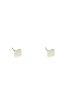 KTCollection Square Silver Studs - Product List Image