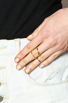 KTCollection Stacking Gold Rings - Alternate List Image