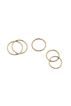 KTCollection Stacking Gold Rings - Product List Image