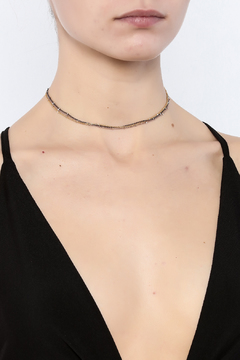 KTCollection Triple Metal Choker - Alternate List Image