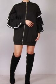 KTZ Ruffled Sleeve Jacket - Product Mini Image