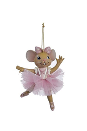 Kurt Adler Ballerina Mouse Ornament - Product Mini Image