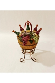 Kurt Adler Barrel Of Wine Ornament - Product Mini Image