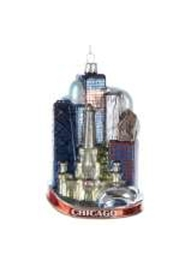 Kurt Adler Chicago Christmas Ornament - Product Mini Image