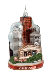 Kurt Adler Chicago Skyscraper City Ornament - Product Mini Image