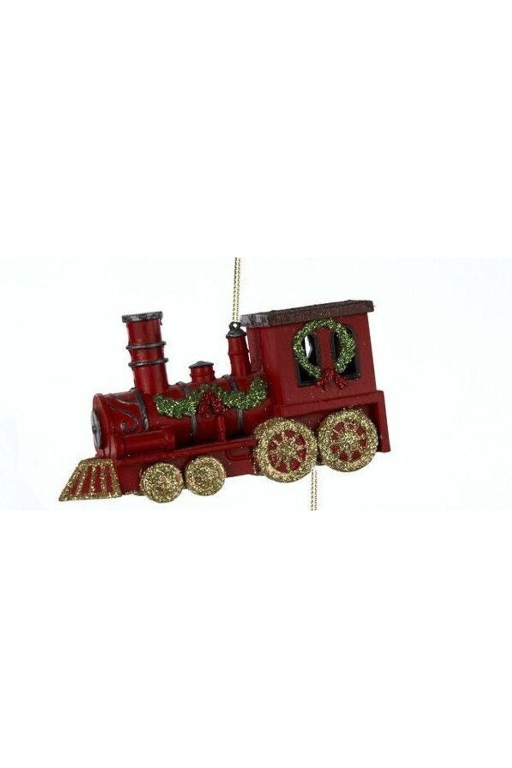 Kurt Adler Christmas Train Ornament - Front Cropped Image