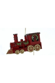 Kurt Adler Christmas Train Ornament - Product Mini Image