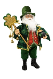 Kurt Adler Kris Kringle Irish Santa - Product Mini Image